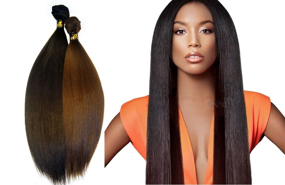Different Hair Extension Types and Methods - 1. Sew In Hair Weaves Wefted Hair Extensions