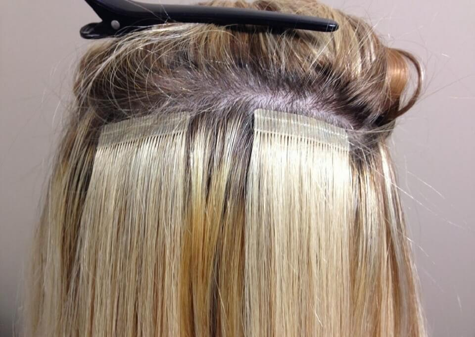 Different Hair Extension Types and Methods - 3. Tape In Hair Extension