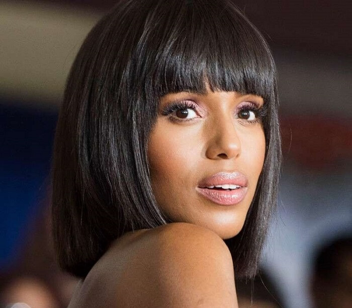 Bob. Kerry Washington Hairstyles that can Hide Your Age | Hairstyles that Make you Look Younger