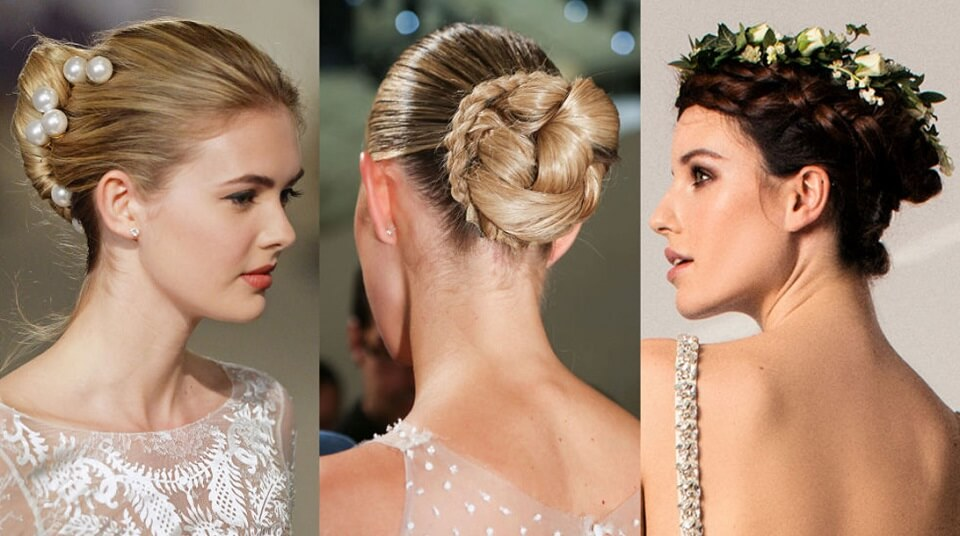 9. Braided Chignon runway models hairstyles to steal, runway models hairstyles, red carpet hairstyles
