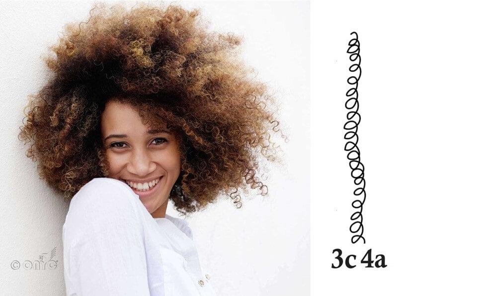 Afro Tight Kinky Curly – 3C 4A Curl different types of curly weave hairstyles