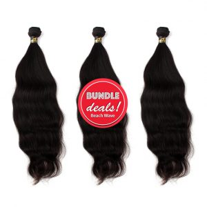Body Wave Bundle Deals ONYC Beach Wave Bundle wit Closure Beach Wave Bundle Deal