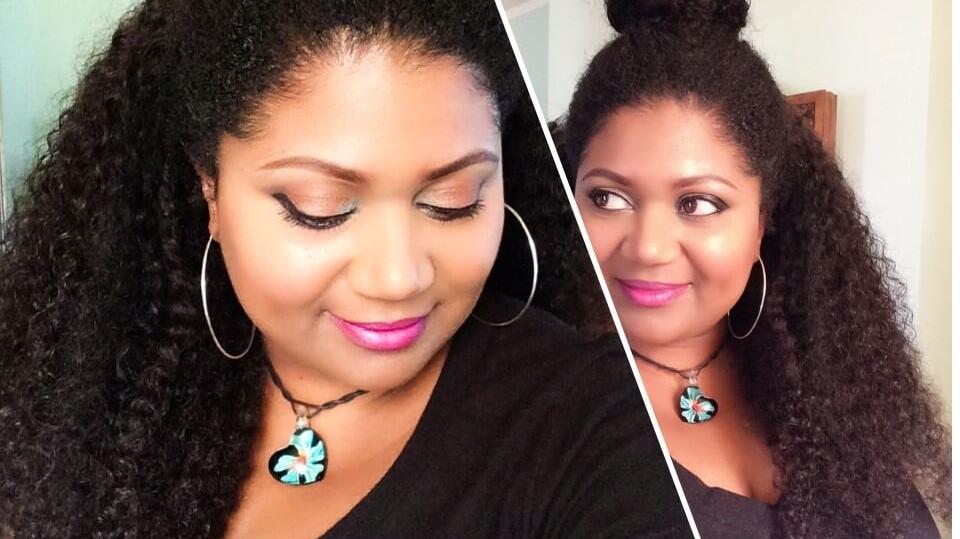 3B3C Hair Review | Kinky 3B3C Curl -Habiba Blog Featured Image