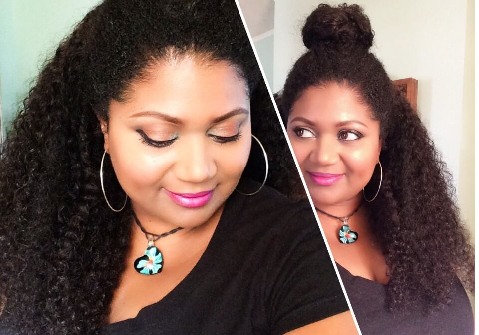 3B3C Hair Review | Kinky 3B3C Curl -Habiba Blog Featured Image