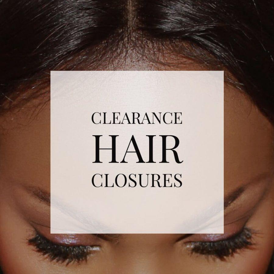 Clearance Hair Closure