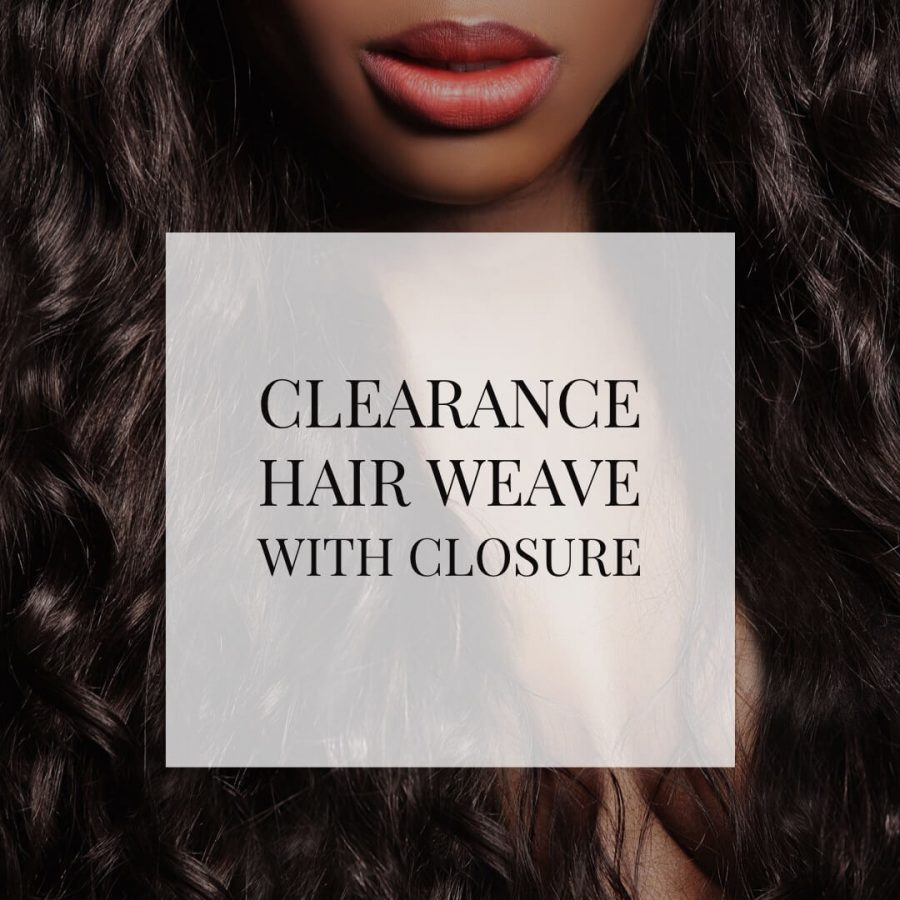 Clearance Hair Weave With Closure