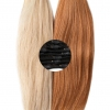 Colored Relaxed Hair Clip Ins Bleach Relaxed Clip In Hair Extensions