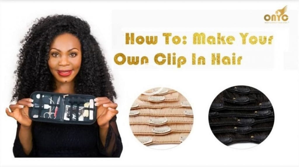 DIY – How To Make Your Own Clip In Hair Extensions