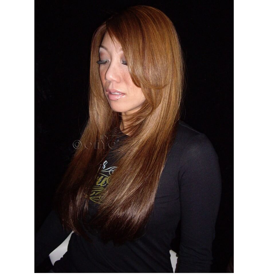 Straight Weave Hair Styles ONYC Silky Straight Hair Gallery Doreen Euro Straight 1 B Machine Weft Colored Styled By Thelma