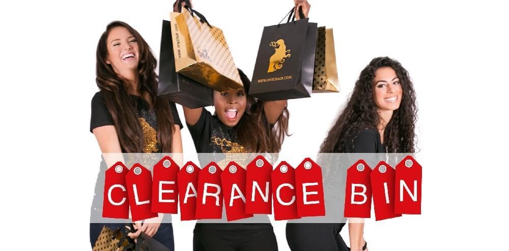 Final Sale Clearance Bin