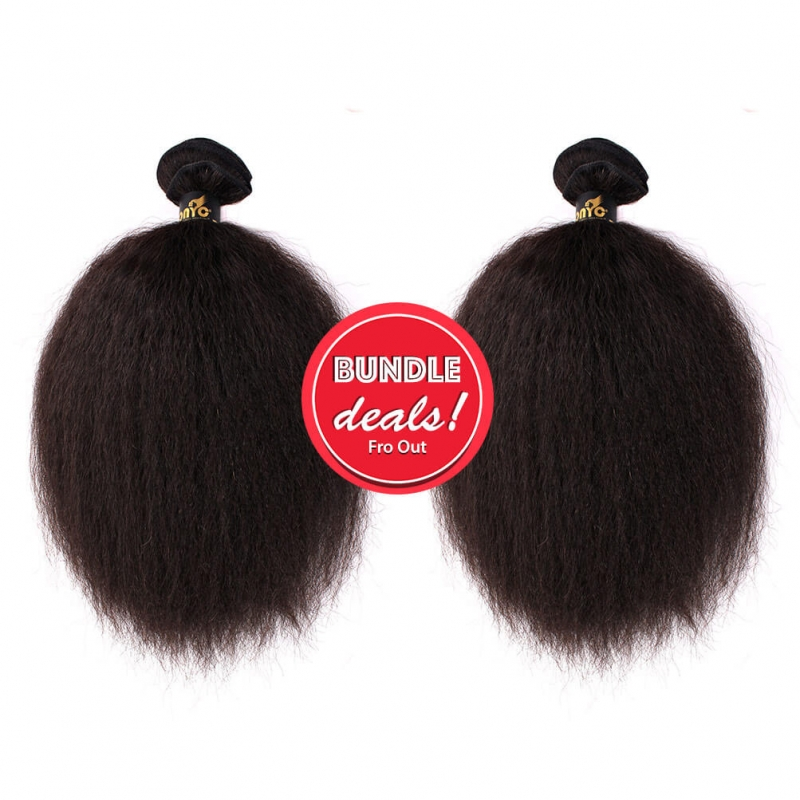 Fro Out Kinky Straight Bundle Deal