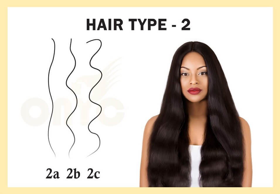 Hair Type 2 (1)- Different Types of Hair Textures | Natural Hair Types
