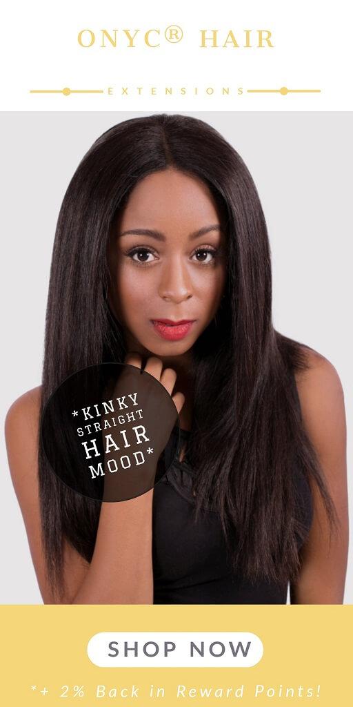 Kinky Straight Hair Mood