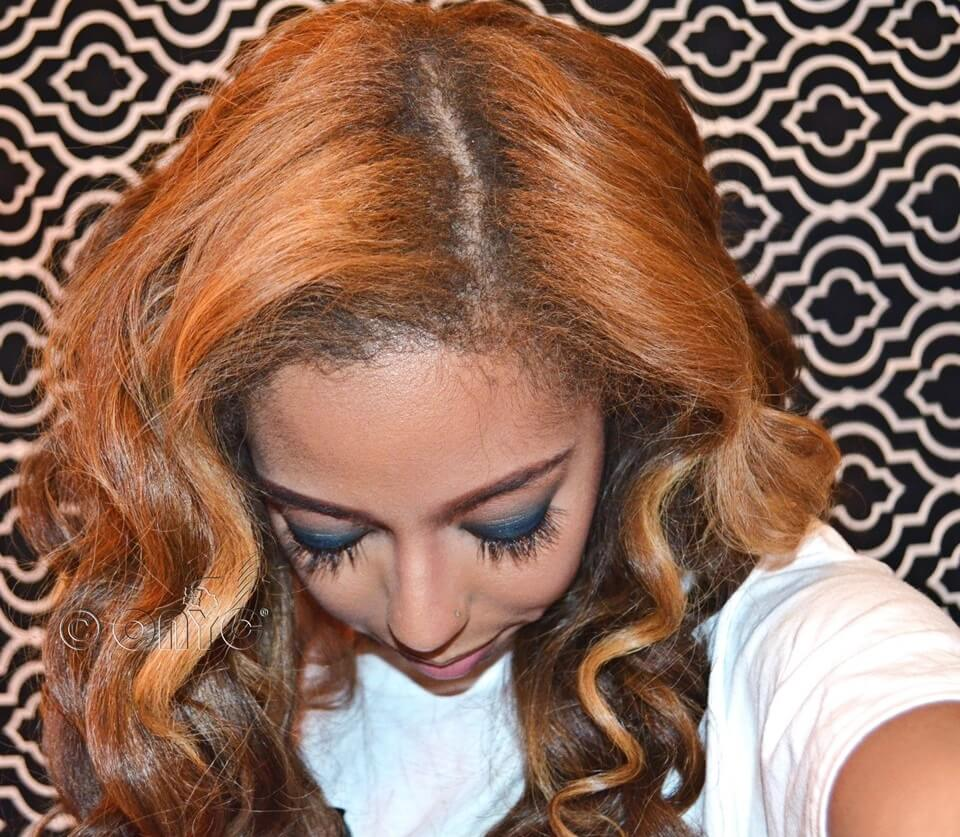 Lexi ONYC Fro Out Colored Kinky Straight Hair4