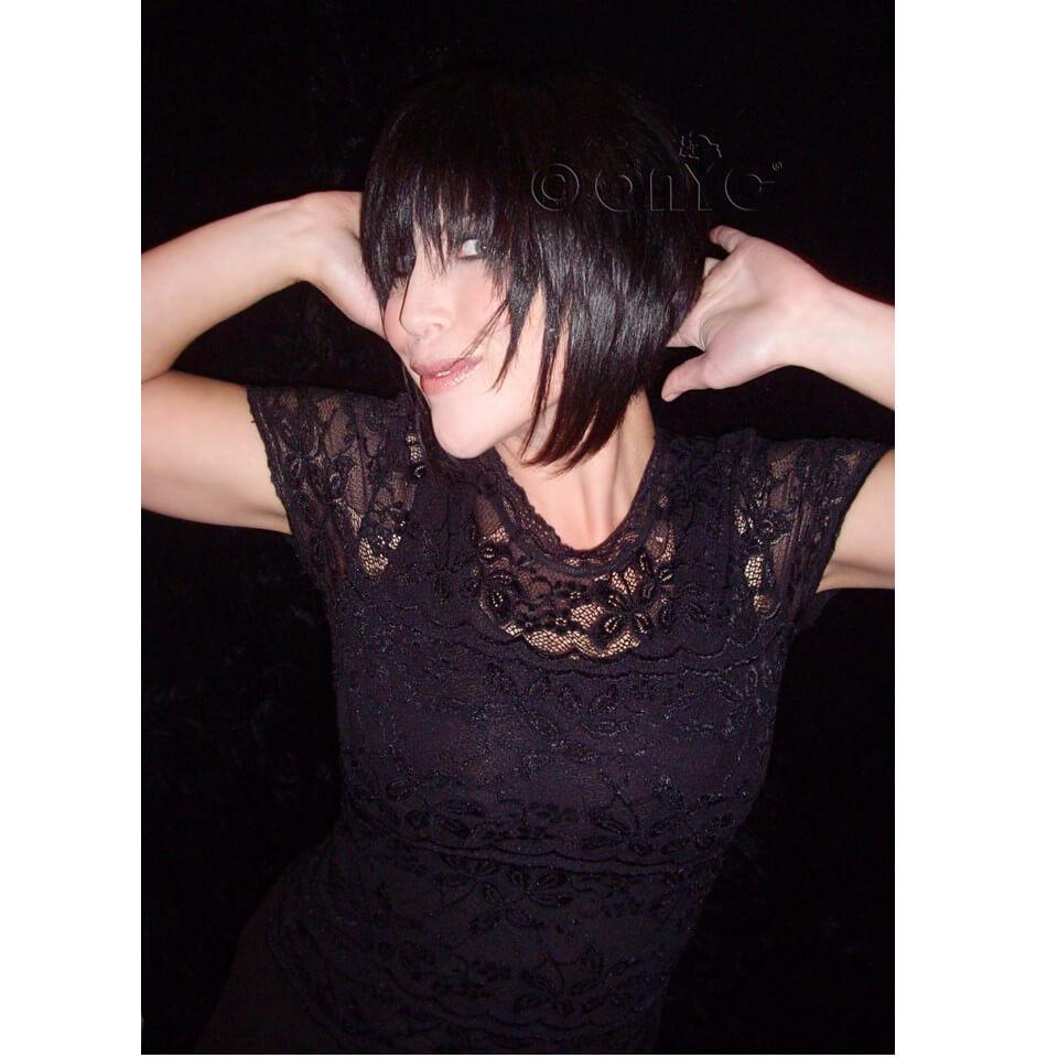 Straight Weave Hair Styles ONYC Silky Straight Hair Gallery Mellisa Wearing ONYC Virgin 1B