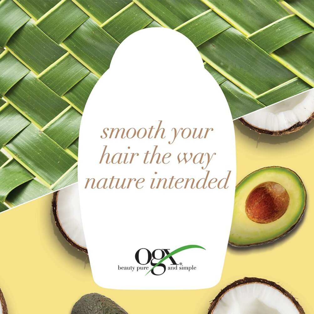OGX Ever-Straightening + Brazillian Keratin Therapy Conditioner