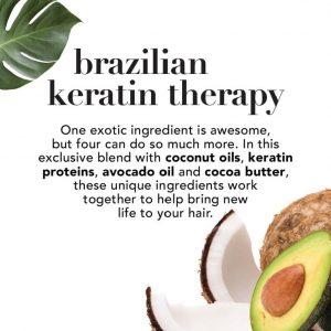 OGX Ever-Straightening + Brazillian Keratin Therapy Conditioner