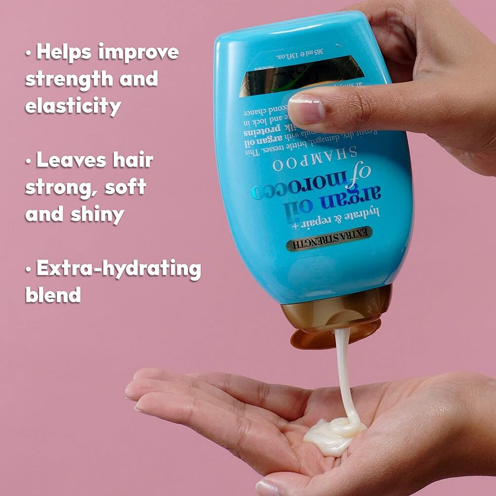 OGX Hydrate And Repair Argan Oil Of Morocco Extra Strength Shampoo