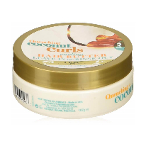 OGX Quenching Coconut Curls Curling Hair Butter, 6.6 Ounce