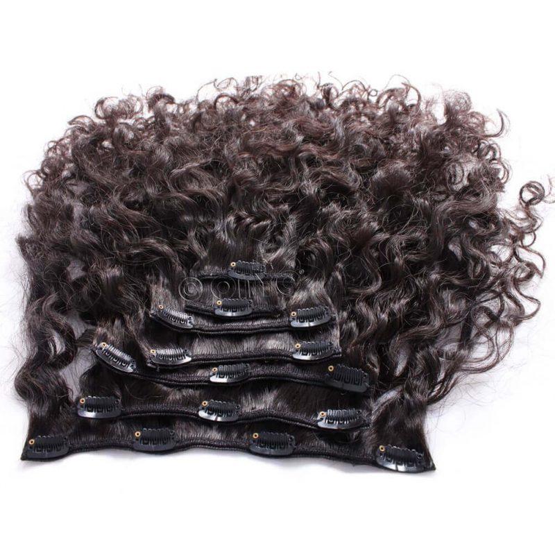 ONYC 7 Piece Clip In Curly Addiction 3B Deep Curly Hair 2