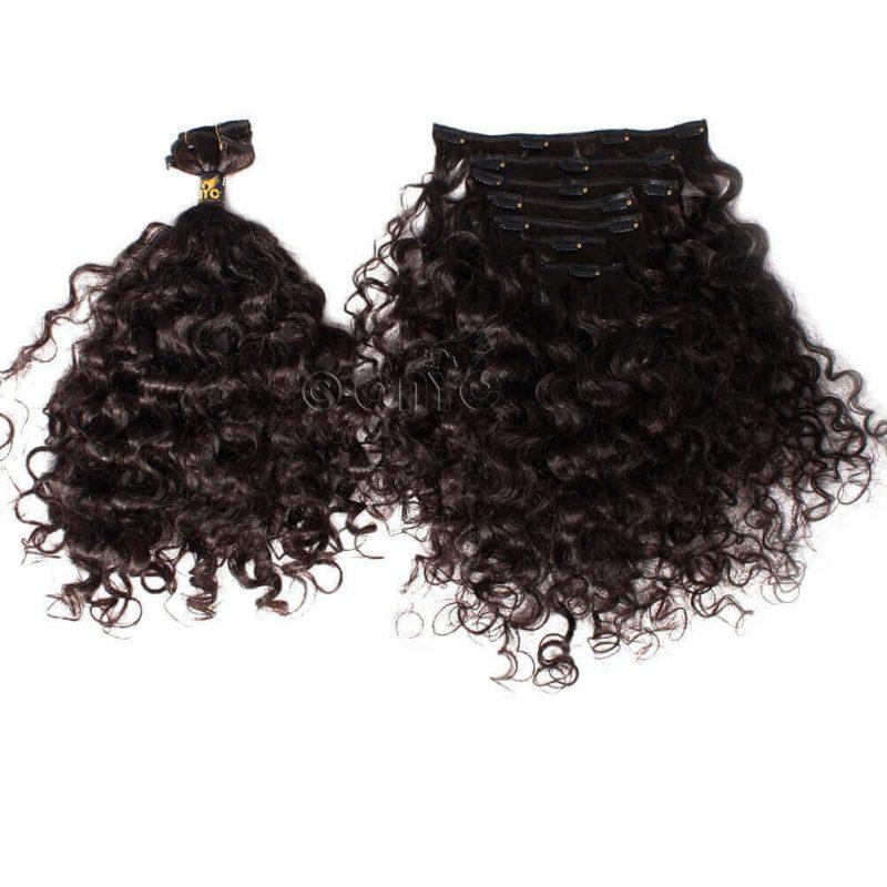 ONYC 7 Piece Clip In Curly Addiction 3B Deep Curly Hair2