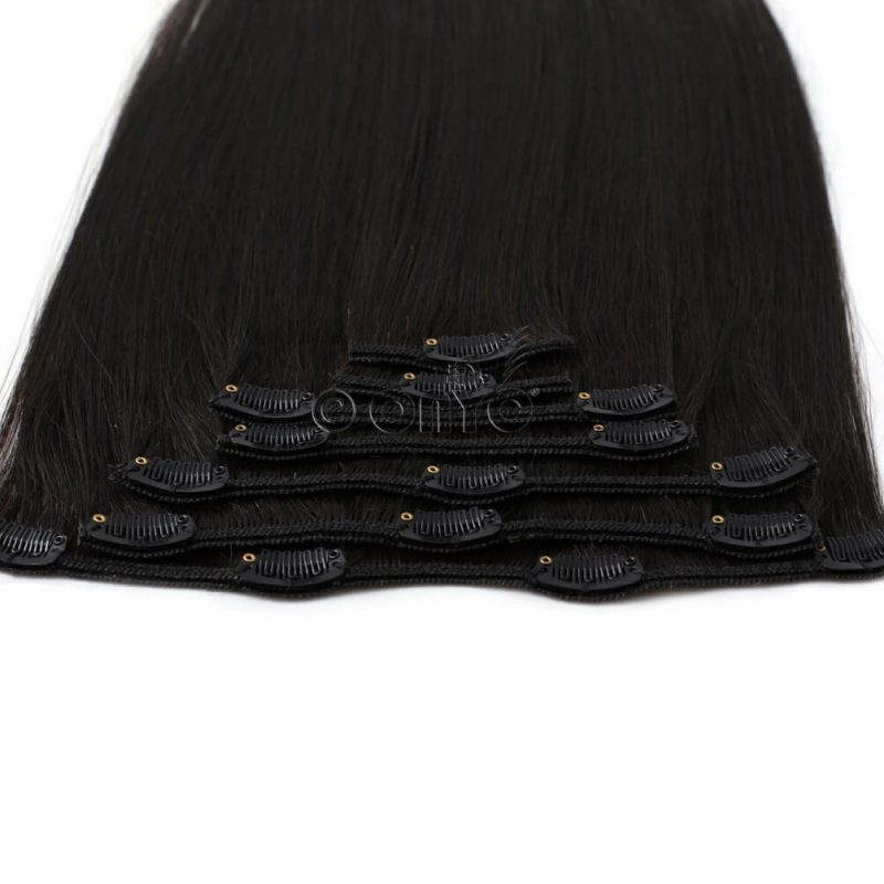 ONYC 7 Piece Clip In Light Relaxed Perm Hair Clip View