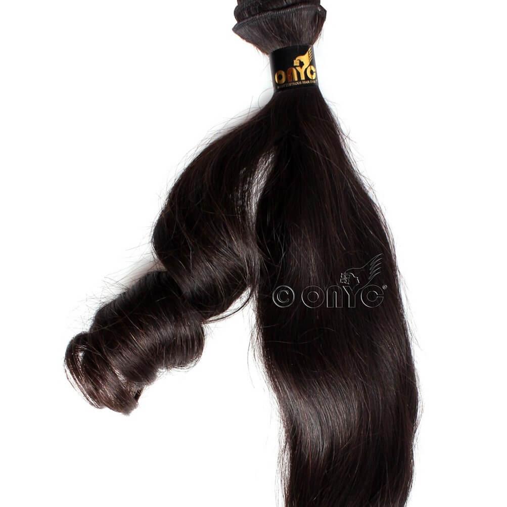 ONYC Beach Wave Hair Body Wavy Hair Weave Curled