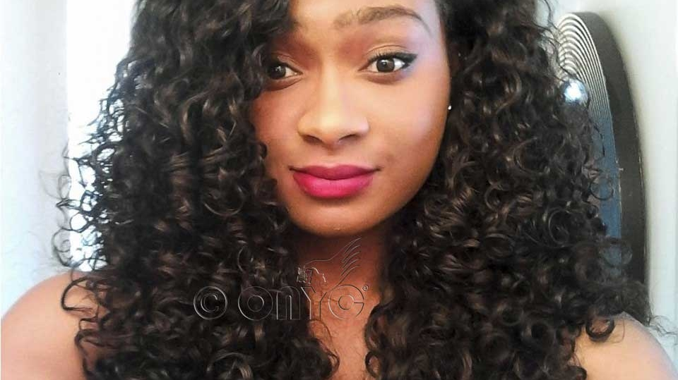 ONYC Beauty Gabrielle Wearing Curly Addiction 3B