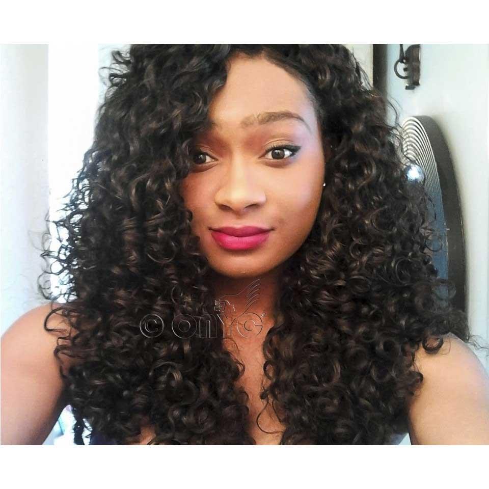 ONYC Beauty Gabrielle Wearing Curly Addiction 3B