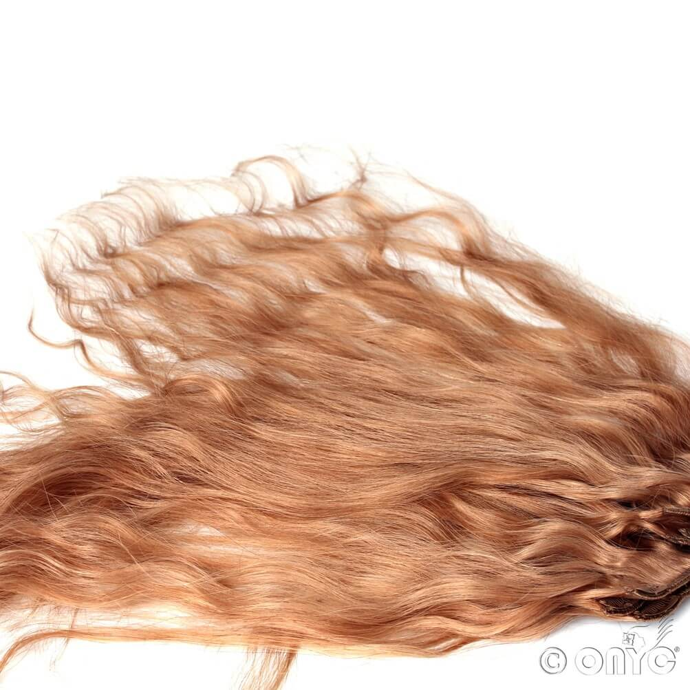 wavy colored hair extensions ONYC Body 2 Wavy Golden Collection