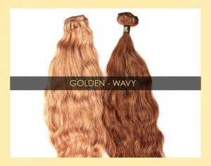 ONYC Colored GOLDEN WAVY