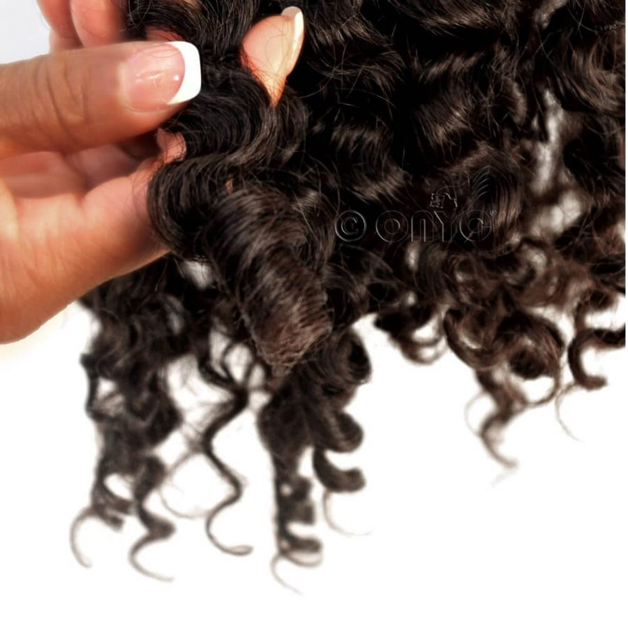 Deep Curly Hair Weave Extension ONYC Curly Addiction 3B Deep Curly Hair Curl Pattern