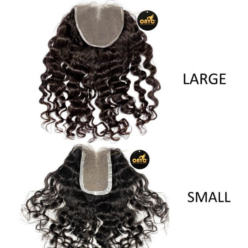 ONYC Curly Addiction 3B Deep Curly Hair Lace Frontal Closure Lace View