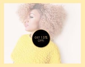 ONYC Hair Get 15 Percent Off deal