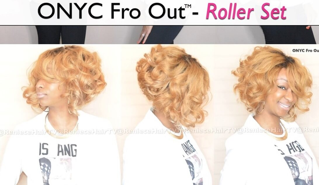 ONYC Hair Kinky Straight Short Curly Bob