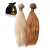 Colored Relaxed Hair Weave Extensions ONYC Hair Golden Collection ONYC Hair Relaxed Perm Golden Collection