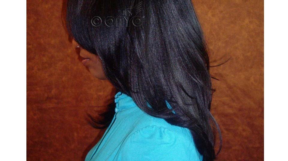 ONYC Hair Relaxed Perm Hair Full Style