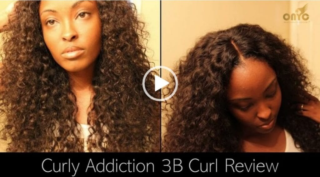 ONYC Hair Reviews ONYC Curly Addiction 3B Curl And Closure!