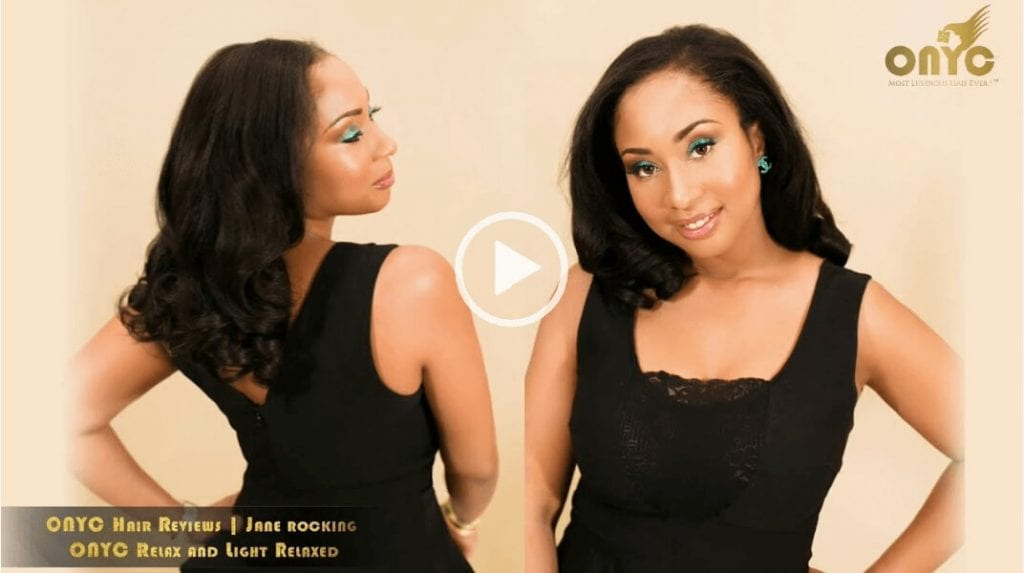ONYC Hair Reviews Video – Jane Rocks Relaxed Hair Textures