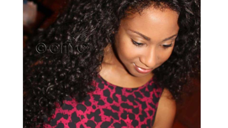 ONYC Hair Customer Jane With Curly Addiction 3B Hair