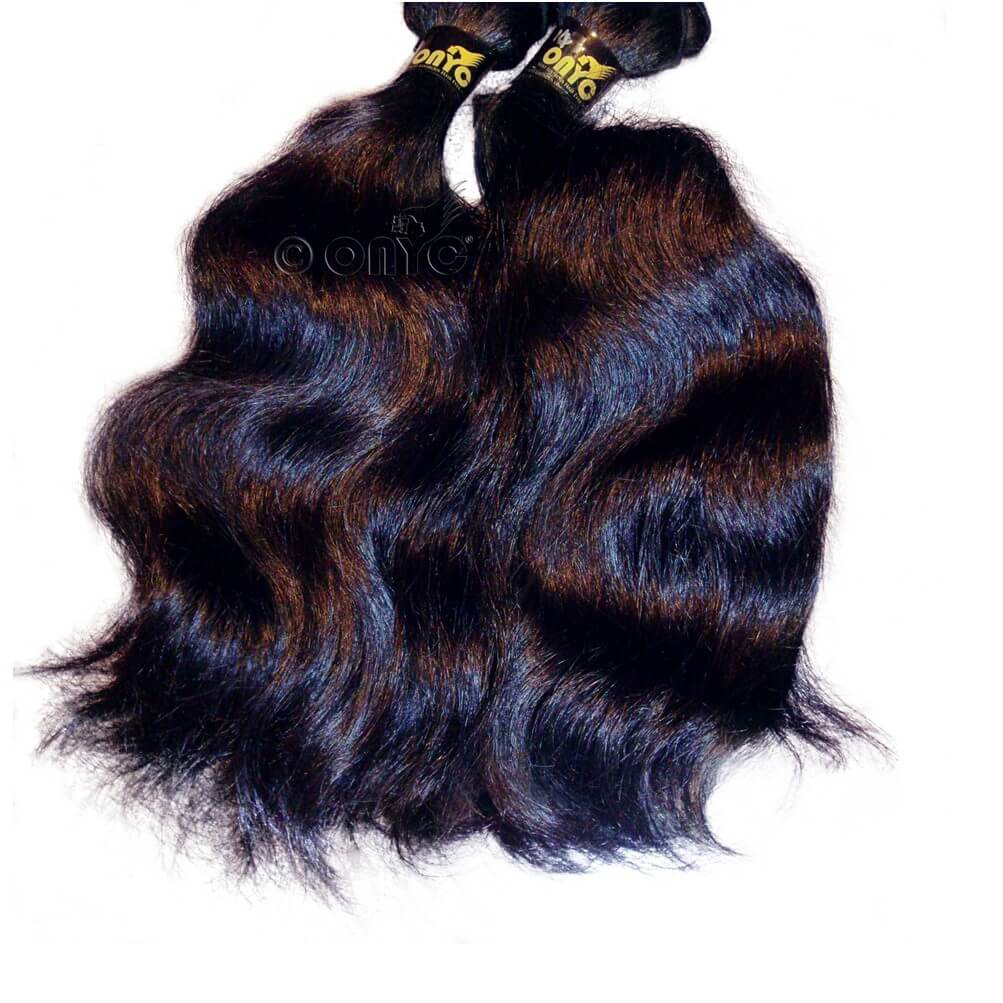 virgin indian body wave hair ONYC Indian Body Wave Hair Machine Weft2