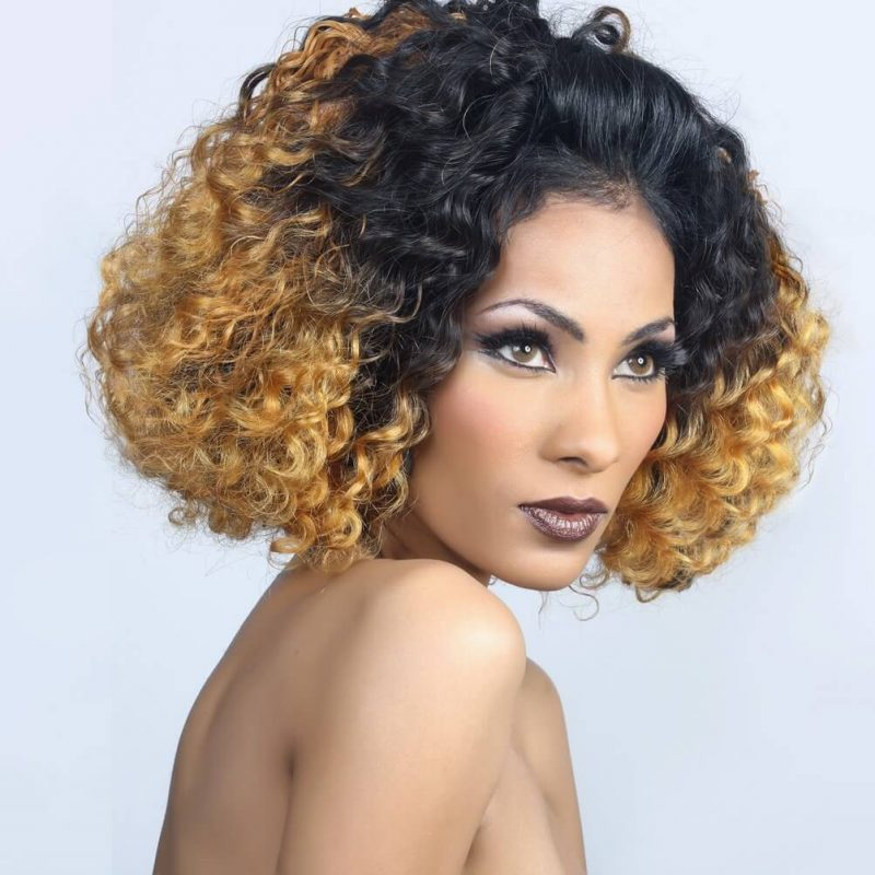 ONYC Indian Curly 3A Hair Weave Weft