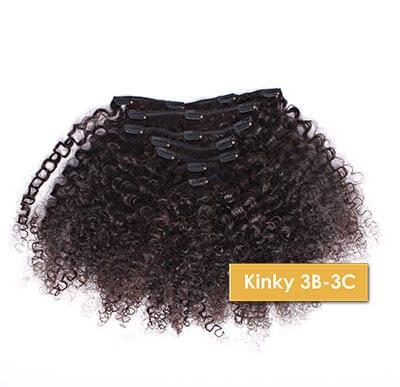 ONYC Kinky 3B 3C Clip In Hair