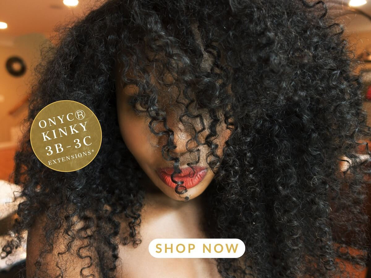 ONYC Kinky Curly 3B3C. Learn how to take care of kinky hair and how to care for kinky curly hair extensions. Understanding how to detangle kinky curly weave and how to brush kinky curly hair will help you know and how to maintain kinky curly wig. Know the best products for kinky curly weave.