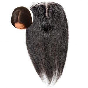 Relaxed Perm Straight Hair Frontal Closure ONYC Relax Perm Frontal Closure