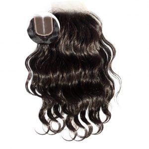 Virgin Remy Wavy Closure ONYC SASSY Wavy Closure
