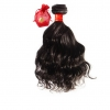 Virgin Remy Wavy Hair Weave Extension Sassy Remy™Machine Weft ONYC Sassy Remy Loose Wavy Human Hair