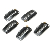 U Shaped Snap On Teeth Metal Wig Clips For Hair Extension Wholesale U Shaped Snap On Teeth Metal Wig Clips