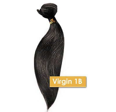 Different Hair Weave Textures - ONYC Virgin 1B Hair