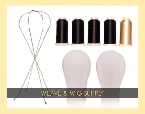 ONYC WEAVE and WIG SUPPLY Menu